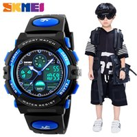 SKMEI Fashion Kids LED Digital Watches for Boys Girl Sport P...