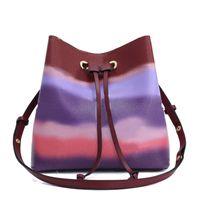 Nouveau sac de stylo de luxe femmes sacs de luxe sacs de cordon de luxe de luxe sacs sacs sacs de godets de godet de grande capacité véritable cravate en cuir véritable