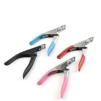 Кусачки для ногтей из нержавеющей стали Акриловые Ложные Советы Ногтей Кусачки Маникюрные Ножницы Для Ногтей 4 стилей RRA1732
