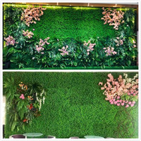 Césped artificial Césped artificial Césped artificial Mat Mat Pet Food * 40 * 60cm25 25cm12.5 * 12.5cm Plastic Fish Tank falso césped de hierba