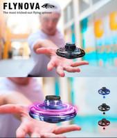 FlyNova UFO drone helicóptero anticolisión del vuelo del globo mini drone LED Mini USB Infraed aviones no tripulados de aviones 3 colores