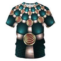 3D 프린트 T 셔츠 남성 브랜드 짧은 소매 티셔츠 남성 재미 하라주쿠 슬림 피트 T 셔츠 힙합 스트리트 티 셔츠 옴므 2XS-4XL