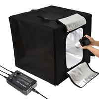 GODOX Dreifach-Licht Mini Studio LST 40W Fotografie Box 40 * 40CM Studio Zubehör Eingebautes Licht Photo Box Kleine Gegenstände