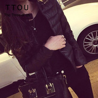 TTOU Winter Women Short Jacket Warm Down Outwear Female Cott...