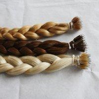"BWHair 16'' 18"" 20"" 22'' 1g s 200g NANO RING hair extensions Indian Remy Human single drawn"