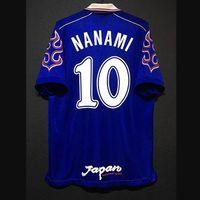 Retro Japan Soccer Jerseys Nakayama Nanami Nakata Miyamoto Nakamura Okano Kazu Camicia vintage Kit classico Maillot
