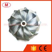 K04 5306-123-2014 Mise à niveau 46.39 / 60.00mm 9 + 0 lames Haute performance Compresseur Turbo Bill Roue / molette pour Audi 5304-970-0064