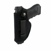 Симметричная IWB OWB скрытого ношения пистолета кобура с металлическим зажимом Fit Большинство Gun