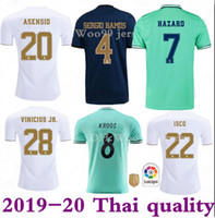 HAZARD Isco soccer jersey 19 20 Real madrid Jerseys 2019 202...
