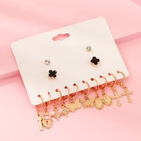NAIZHU New Earrings Jewelry Wedding Accessories Vintage Butt...