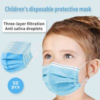 Children' s special Mask three- layer protection 50pcs di...