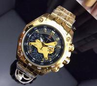 классическая мода бесплатная доставка EF-550 EFR золотая рамка часы дизайнер мужские Стальной браслет КАС кварцевые мужские часы серебро черный