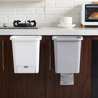 Cozinha Pendurado Lixeira Lixeira Lixo Cozinha Reciclagem Lixeira Armário de Lixo Com Gaveta Recipiente de Lixo