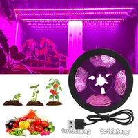 Full Spectrum LED Grow Light Strips Fitolampy Growing Lamp f...
