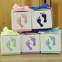 Candy Box feet Shape Party Wedding Baby Shower Favor Paper G...