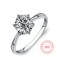 latest ring designs for girls 925 Sterling silver solitaire ...