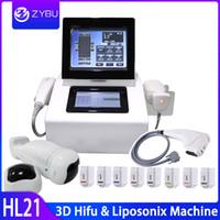 3D آلة HIFU اشتراكاتك Liposonix الجسم الشكل التخسيس لتخفيف الوزن HIFU التجاعيد الوجه إزالة رفع مكافحة الشيخوخة الدهون الحد من آلة الجمال
