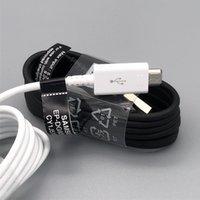 삼성 S7 S6 용 100 % OEM 품질 1.2M 케이블 주 4 고속 충전 USB 마이크로 데이터 동기화 케이블