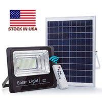 IP65 impermeável ultra brilhante led solar 40w 100 w 120w led ao ar livre luz de inundação luz lâmpada de lâmpada solar iluminação de paisagem ao ar livre