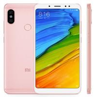 Original Xiaomi redmi Nota 5 4G LTE telefone celular 4GB RAM 64GB Snapdragon 636 Octa Núcleo Android 5,99 polegadas tela cheia 13MP face ID Mobile Phone