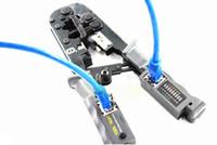 Yepyeni 4 in 1 Multitool Tel Sıkma Aracı Test Sıkma Pensesi Tel Stripper RJ11 RJ12 RJ45 Kablo Crimper Kesici Test Cihazı LED Ayrılabilir