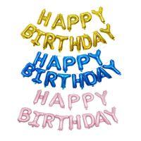16 дюймов английский алфавит письмо воздушные шары с Днем Рождения свадебные украшения воздушный шар детские игрушки партия поставки игрушки
