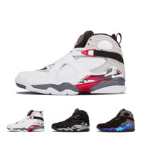 Fashions 8 8s Saint-Valentin Vday Aqua Playoff Noir Chrome Countdown pack de basket-ball Chaussures Hommes 3 Sport Aqua Peat Blanc Sneakers