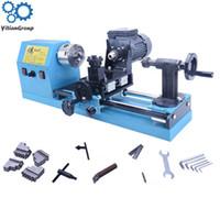 LISM 600W CNC متعددة الوظائف حبة آلة صغيرة الدقة مخرطة تجهيز بودي الخشب حبة اليد المعدنية ستبليس تنظيم السرعة