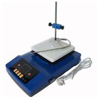 ZnCl-BS 140x140mm Лаборатория Электромагнитная мешалка Лабораторное оборудование Интеллектуальный цифровой дисплей Магнитные Перемешивание Лабораторный Hot Plate