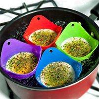 araçları pişirme Food Grade Esnek Silikon Yumurta Avlanmak Cook poach Bakla Mutfak Aracı Pişirme haşlanmış Kupası yumurta mutfak