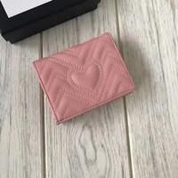 Frete grátis! Designer de moda embreagem Designer de marca mulheres carteiras carteira de couro do couro com caixa de saco de pó 466492