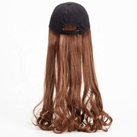 NaturalBeauty ladies quality fiber Curly female Hair Wigs Ba...