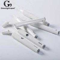 GreenlightVapes auténticos G9 portátil Pen Cera vaporizador Starter Kit de aceite de cerámica blanca del cigarrillo Cámara Coilless eléctrico de vapor de Vape E cig