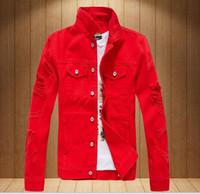 Alta qualidade marca de moda Denim Jacket solta buraco denim jaqueta casual longo casaco de manga das mulheres dos homens primavera tops Casacos
