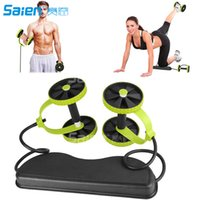 New Sport Core Double AB Roller Wheel Fitness Abdominal Exer...