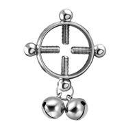 Fashion 316L Bague de mamelon chirurgical en acier chirurgical avec bouclier Broycle Bijoux de piercing Bijoux sans nickel sans nickel