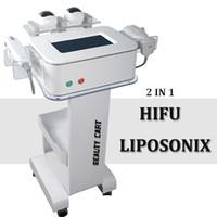 30000 لقطات HIFU Liposonix آلة للوجه بشرة الجسم تشكيل سبا صالون HIFU يبو التخسيس حرق الدهون الجهاز