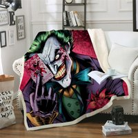 BeddingOutlet Joker Poker Printed Velvet Plush Throw Blanket...