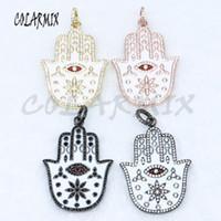 5 parça Fatima el kolye göz kolye Maya el kolye boncuk kristal takı toptan takı bulma 5069