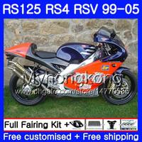 RS125R أزرق أحمر ساخن لـ Aprilia RS 125 1999 2000 2001 2002 2003 2005 318HM.14 RSV125R RS4 RS-125 RSV125 R RS125 99 00 01 02 03 04 05 Fairing