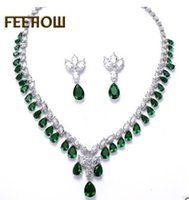 wondrful low price hig quality crystal diamond drops bride wedding jewelry lady's set necklace earings (120.78gg