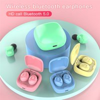 XG12 TWS Macaron Colors Bluetooth 5. 0 Earphones Wireless Hea...