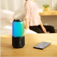 원래 Xiaomi Youpin Velev V03 휴대용 블루투스 스피커 무선 스테레오 사운드 박스 다채로운 LED 라이트 음악 자동차 플레이어 오디오 휴대용