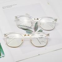 الضوء الأزرق نظارات الرجال الكمبيوتر نظارات الألعاب نظارات شمسية شفافة الإطار النساء مكافحة الأشعة الزرقاء نظارات 3016