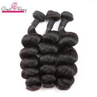 Greatremy Lose Welle Haarbündel Brasilianische Jungfrau Hairextensionen HumanHair Weft 8-30inch Natürliche Farbe Top Qualität