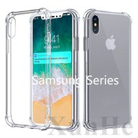 Shockproof Case for Samsung S10 S10 PLUS Note 8 Soft TPU Cas...