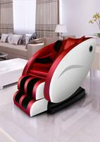 التلقائي بالكامل 4D لكامل الجسم الجاذبية تدليك كهربائي كرسي ذكي كبسولة أريكة متعددة الوظائف مدلك مع بلوتوث ستيريو