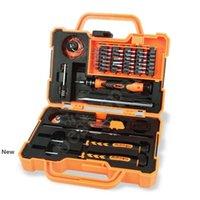 Jakemy JM-8139 45 en 1 Set de destornillador preciso Juego de reparación Herramientas de apertura para teléfono móvil Mantenimiento electrónico Zza1443
