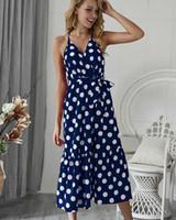 Womens Summer Fashion Dress 2019 New Arrival Printed Casual ...