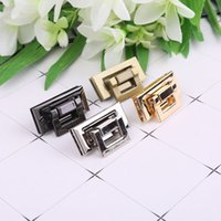 1pc 1. 77x0. 79' ' Rectangle Shape Clasp Turn Lock Tw...